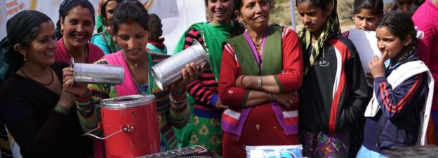 Dharma Life Entrepreneurs demonstrating products