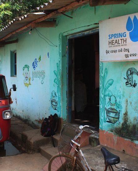 Entrance to Spring Health building