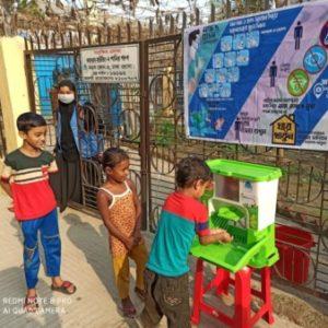 Project logo of Transforming Handwashing Habits in Urban Dhaka